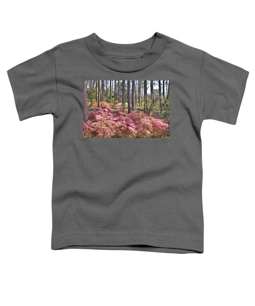 A Quiet Spot In The Woods Toddler T-Shirt