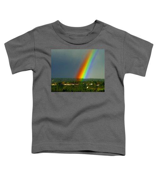 A Rainbow Blessing Spokane Toddler T-Shirt