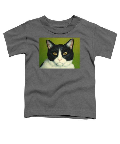 A Serious Cat Toddler T-Shirt