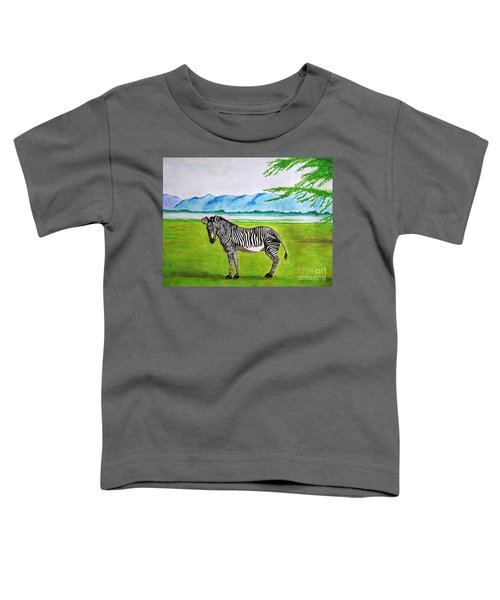 A Striped Chap Toddler T-Shirt