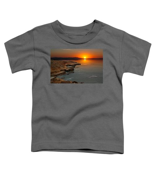A Sunset Toddler T-Shirt by Lynn Geoffroy