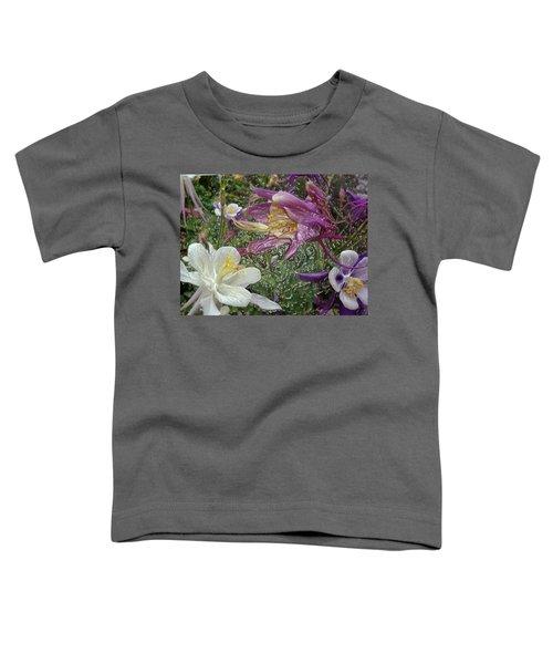 a taste of dew i do and PCC  garden too     GARDEN IN SPRING MAJOR Toddler T-Shirt