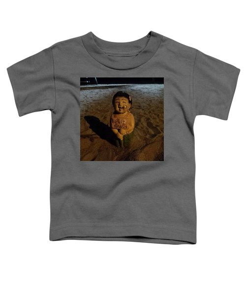Toddler T-Shirt featuring the photograph A Welcoming Friend On My Night Stroll by Mr Photojimsf