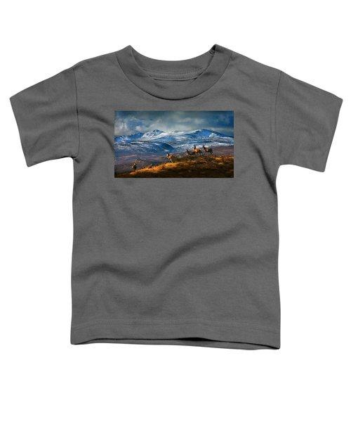 Above Strathglass Toddler T-Shirt