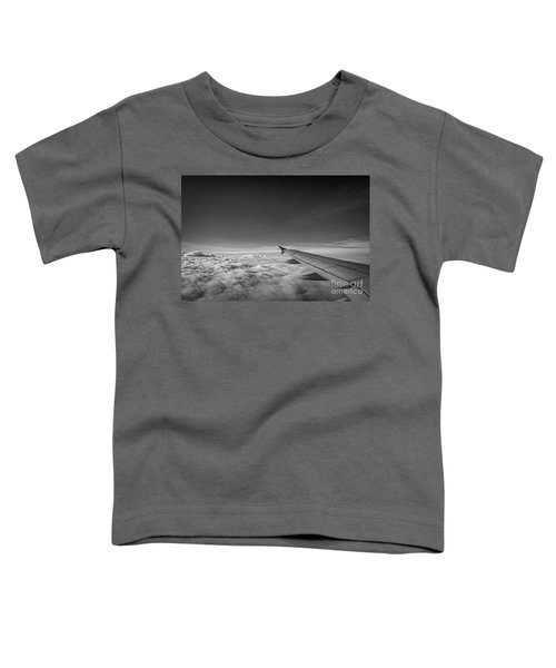 Above The Clouds Bw Toddler T-Shirt