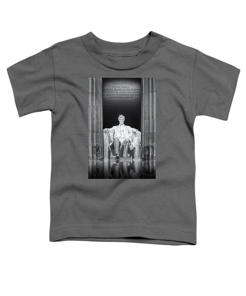 Abraham Lincoln Memorial Toddler T-Shirt