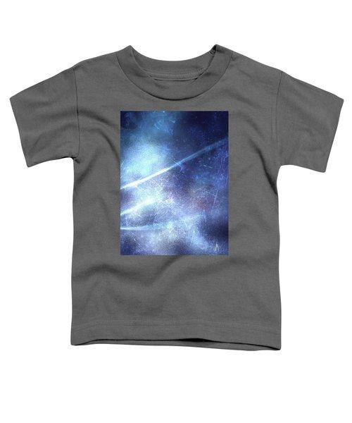 Abstract Frozen Glass Toddler T-Shirt