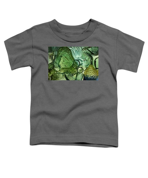 Abstract In Green Toddler T-Shirt