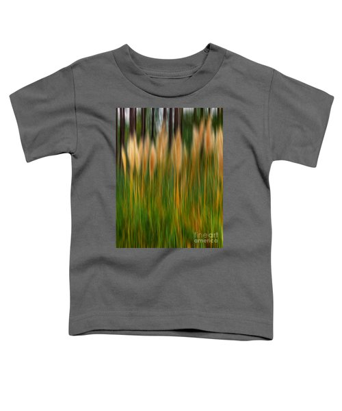 Abstract Of Movement Toddler T-Shirt