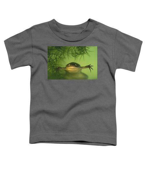 African Clawed Frog Toddler T-Shirt