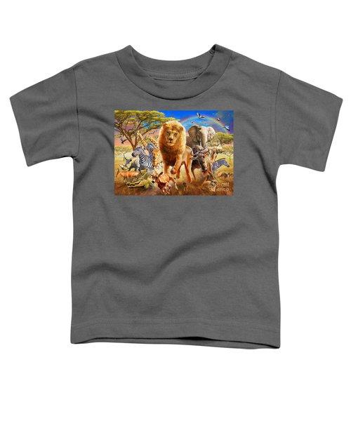 African Stampede Toddler T-Shirt