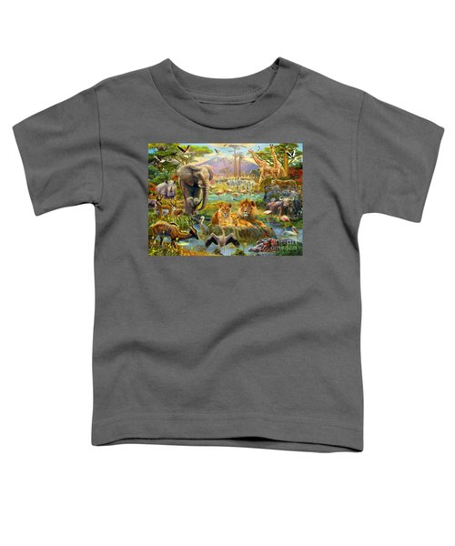African Watering Hole Toddler T-Shirt