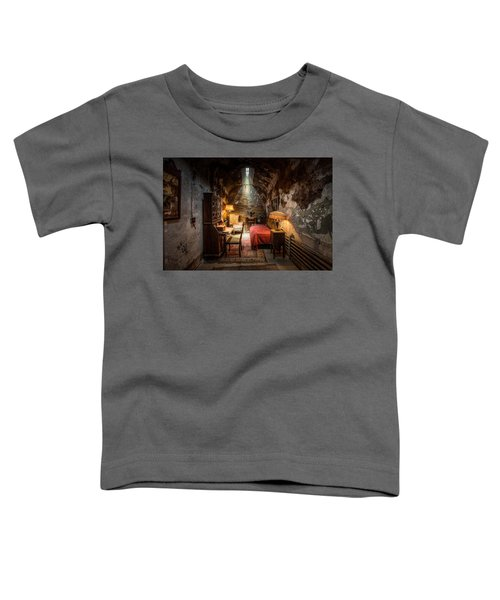 Al Capone's Cell - Historical Ruins At Eastern State Penitentiary - Gary Heller Toddler T-Shirt