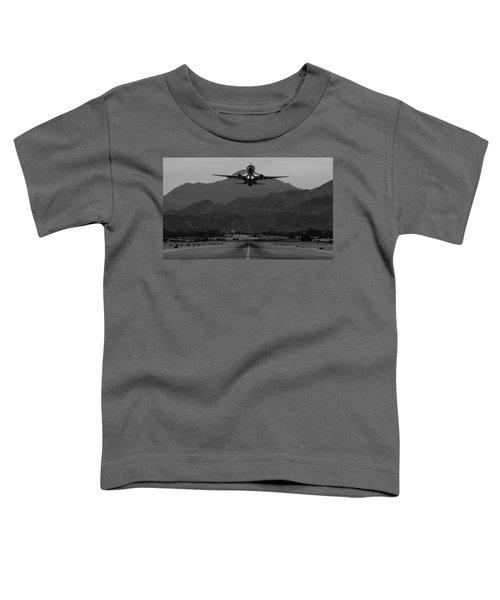 Alaska Airlines Palm Springs Takeoff Toddler T-Shirt