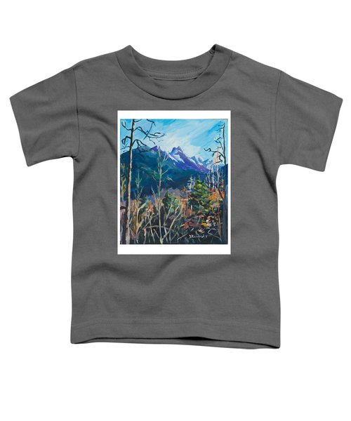 Alaska Autumn Toddler T-Shirt