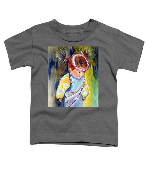 Ali Learns To Bow Toddler T-Shirt