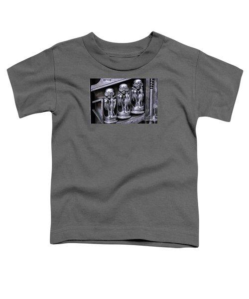 Alien Elton Toddler T-Shirt by Timothy Hacker
