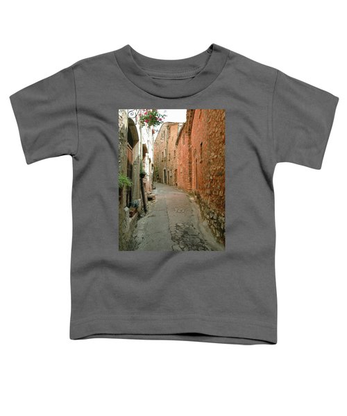 Alley In Tourrette-sur-loup Toddler T-Shirt