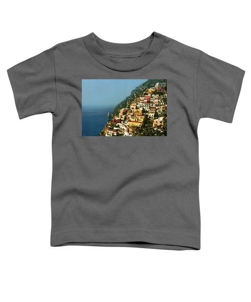Amalfi Coast Hillside II Toddler T-Shirt