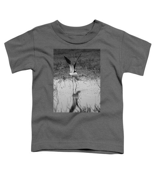 American Avocet Reflection Toddler T-Shirt