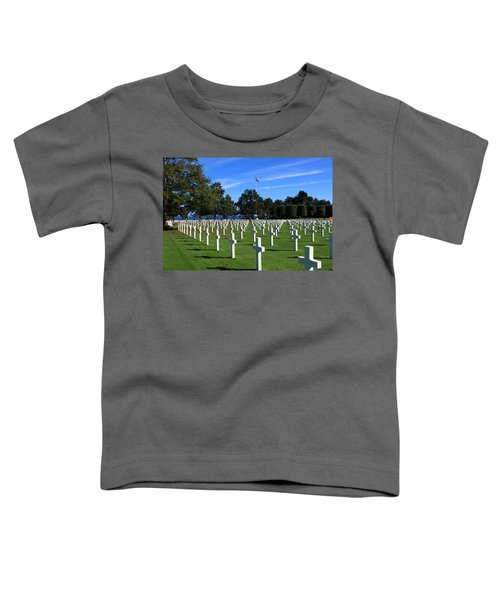American Cemetery Normandy Toddler T-Shirt