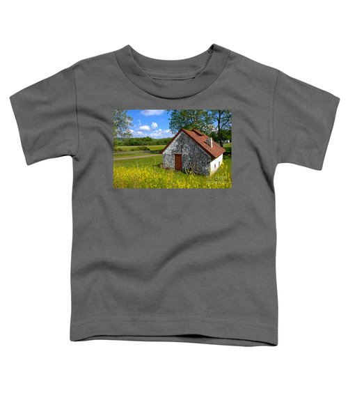 American Country Farmhouse Toddler T-Shirt