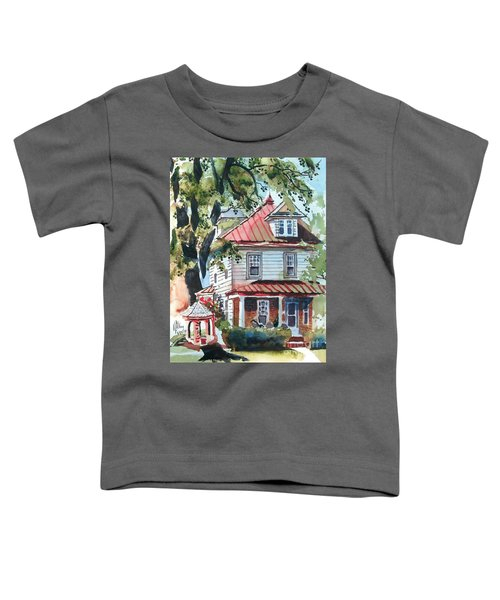 American Home With Children's Gazebo Toddler T-Shirt
