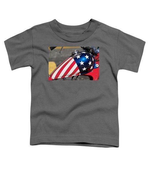 American Motorcycle Toddler T-Shirt