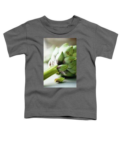 An Artichoke Toddler T-Shirt by Romulo Yanes