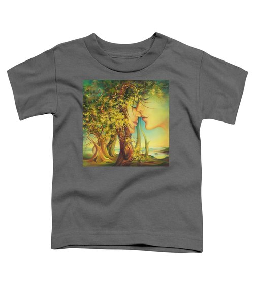 An Encounter At The Edge Of The Forest Toddler T-Shirt