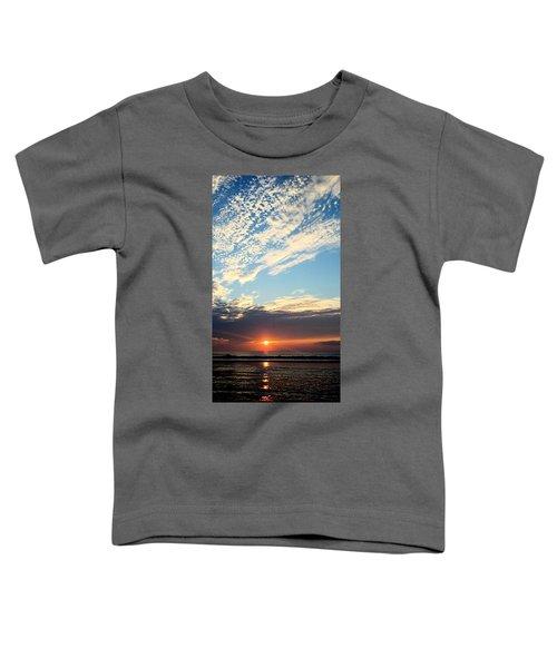 An Ocean And A Sunrise Toddler T-Shirt