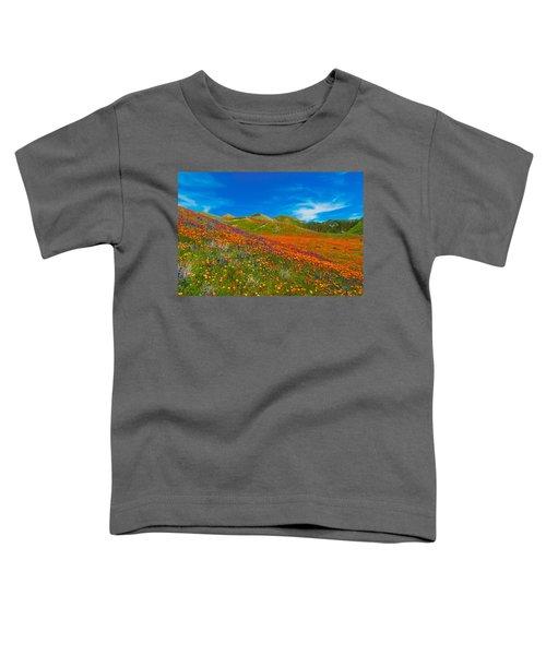 An Ocean Of Orange  Toddler T-Shirt