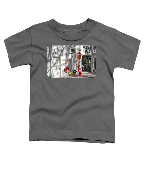 An Old Village Gas Station Toddler T-Shirt