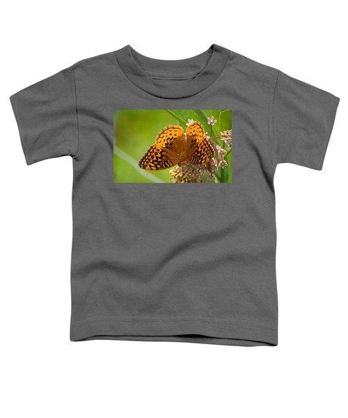 Great Spangled Fritillary Toddler T-Shirt