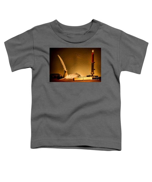 Ancient Texting Toddler T-Shirt