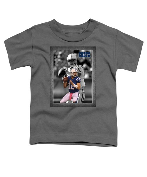 Andrew Luck Colts Toddler T-Shirt