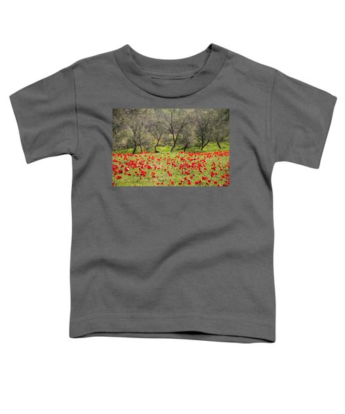 At Ruchama Forest Israel Toddler T-Shirt