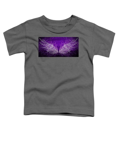 Angel Wings Royal Toddler T-Shirt