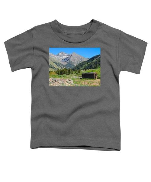 Animas Forks Jail Toddler T-Shirt