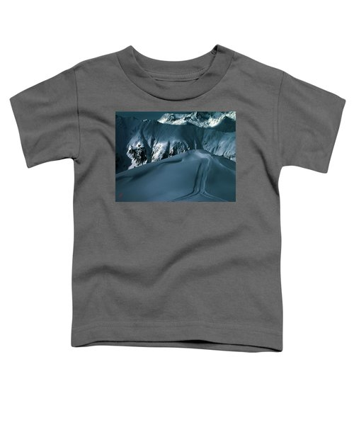 Toddler T-Shirt featuring the photograph Another Late Day In The Mountains  by Colette V Hera  Guggenheim