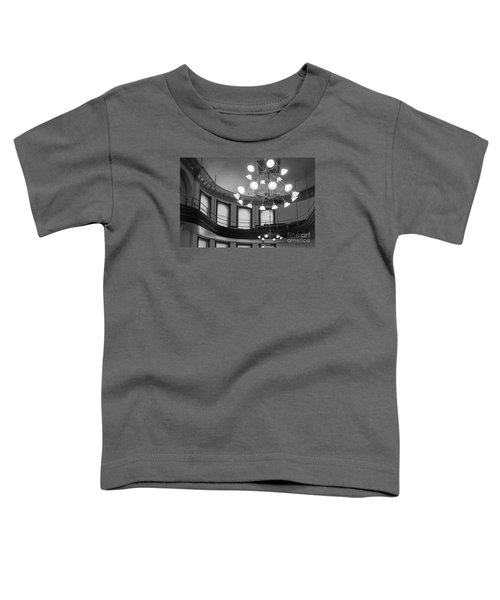 Antique Chandelier In Old Courtroom Toddler T-Shirt