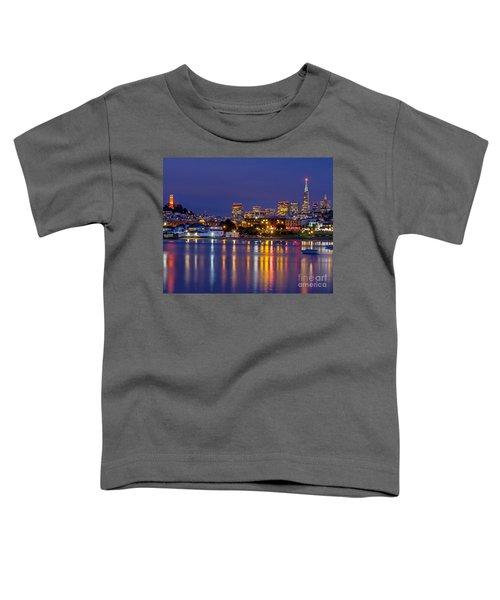 Aquatic Park Blue Hour Toddler T-Shirt