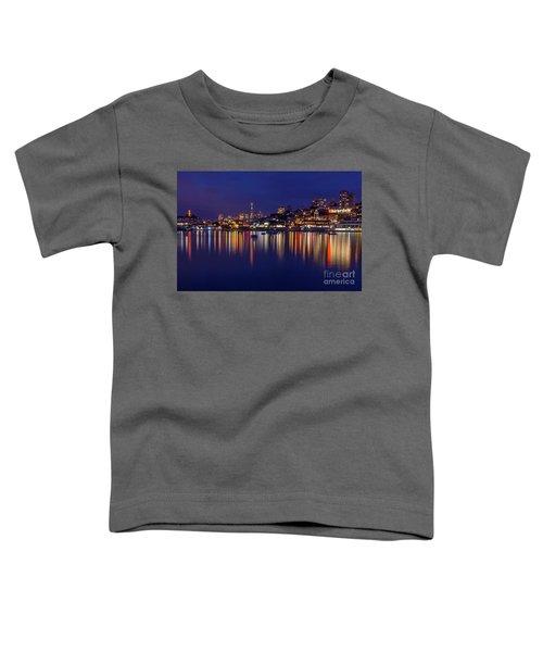 Aquatic Park Blue Hour Wide View Toddler T-Shirt