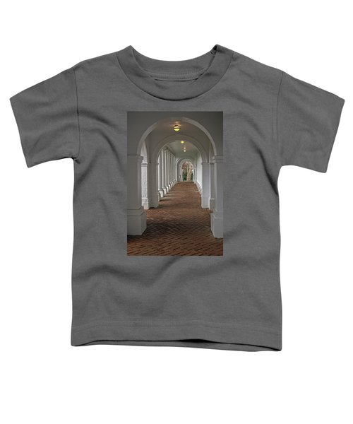 Arches At The Rotunda At University Of Va Toddler T-Shirt