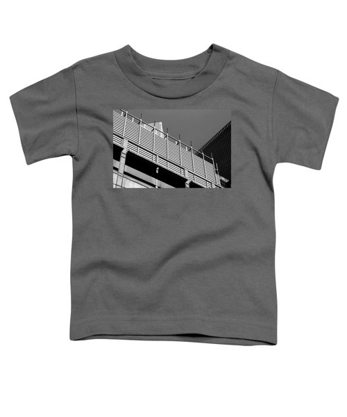 Architectural Lines Black White Toddler T-Shirt