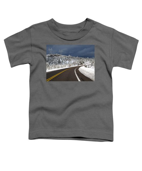 Arizona Snow 2 Toddler T-Shirt