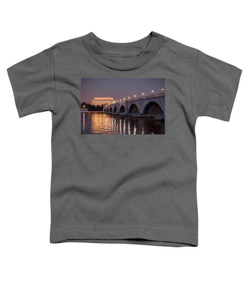 Arlington Memorial Bridge Toddler T-Shirt