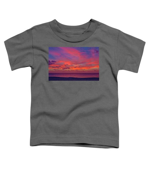Aruba Sunset Toddler T-Shirt