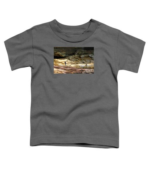 Ash Cave In Hocking Hills Toddler T-Shirt
