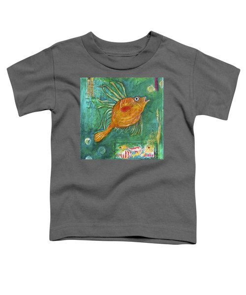 Asian Fish Toddler T-Shirt